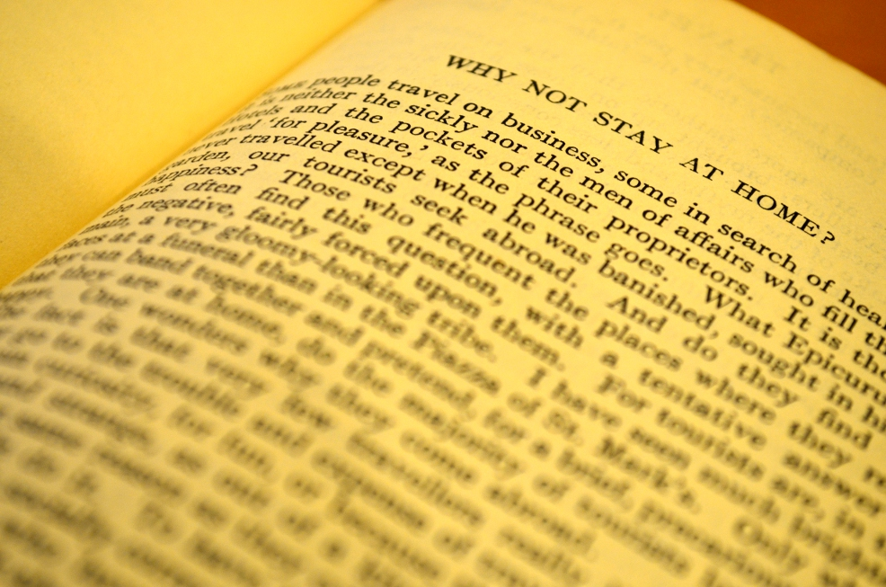 Scrittura di viaggio di Aldous Huxley