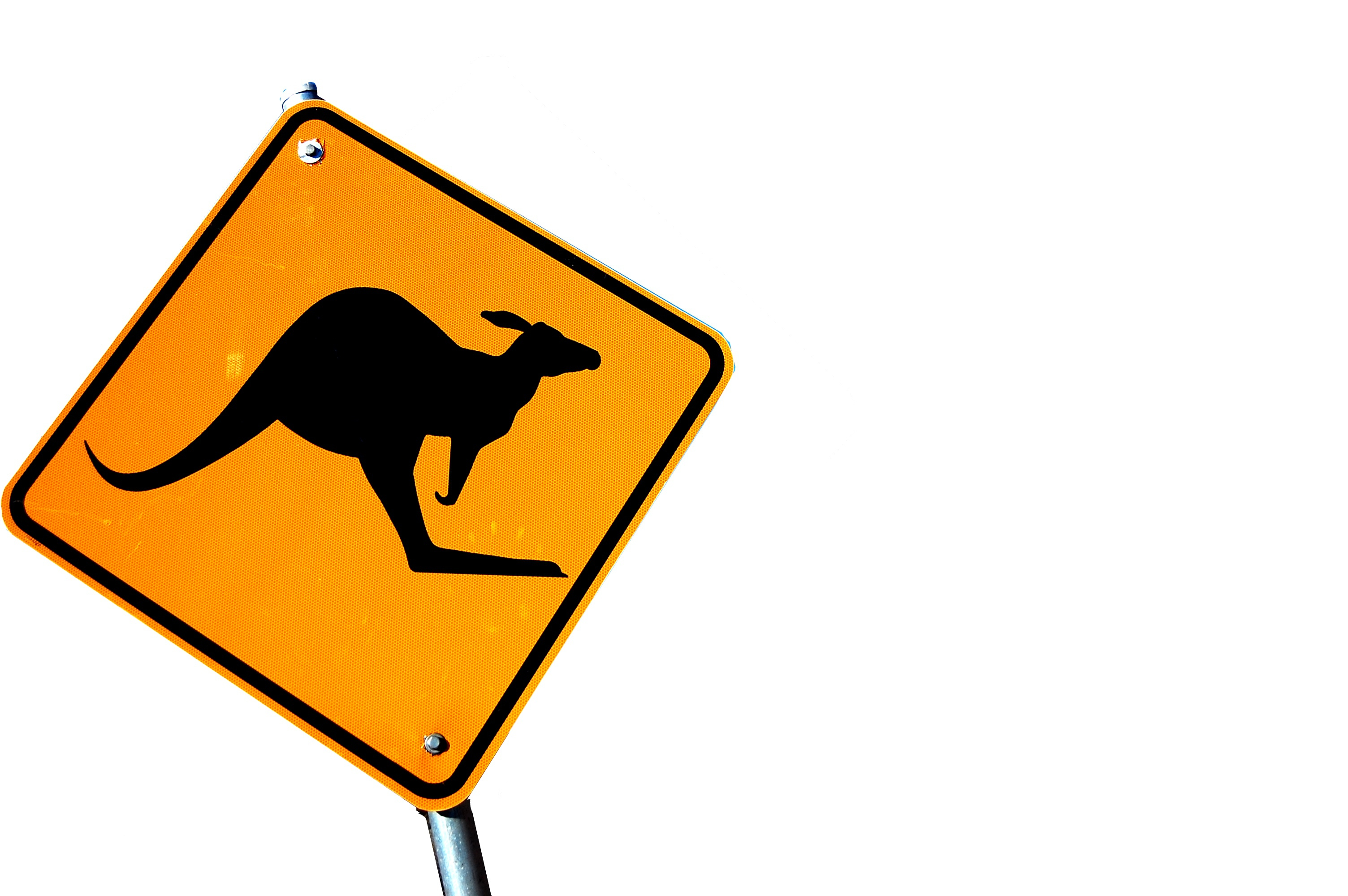 Segnale stradale Australia