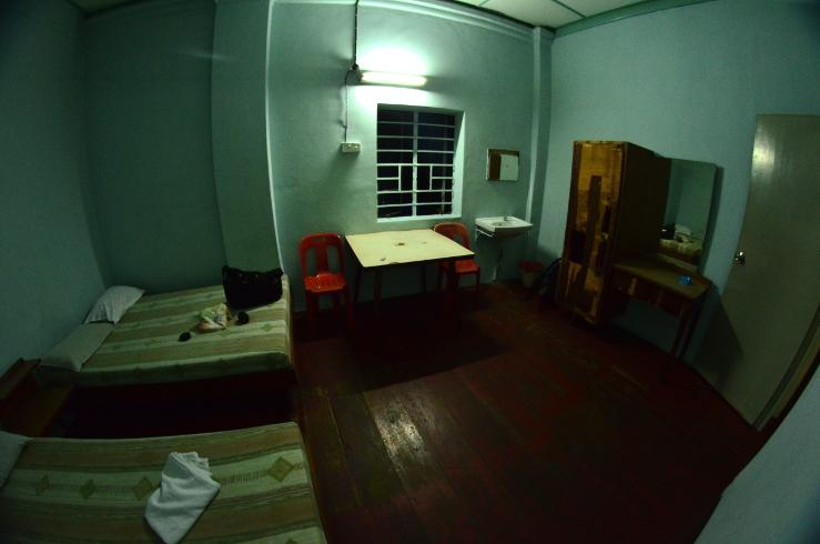 Camera da 7€ a Penang, Malesia