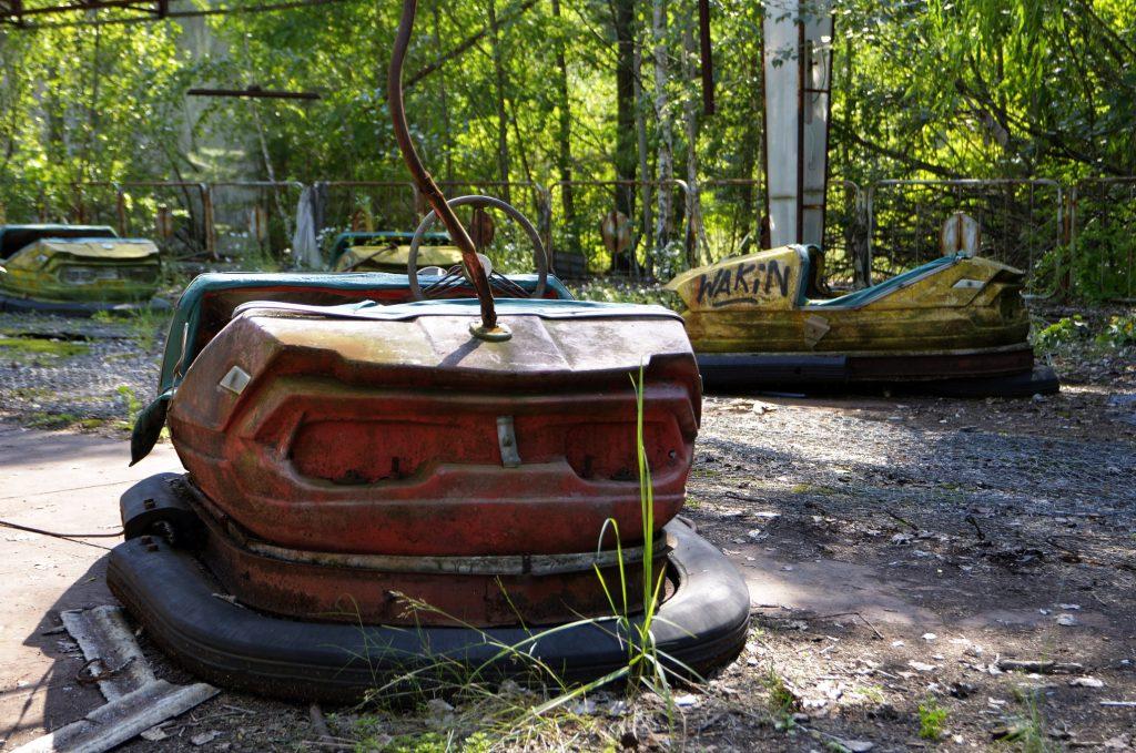 Il Luna Park abbandonato di Pripyat, Chernobyl