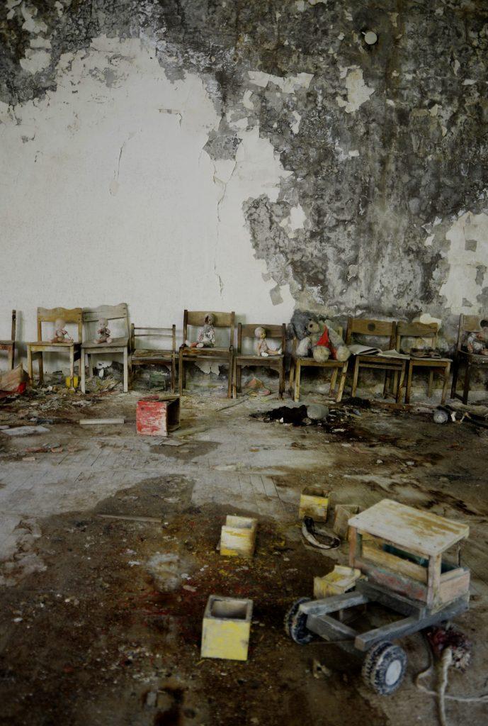 La scuola abbandonata di Pripyat.