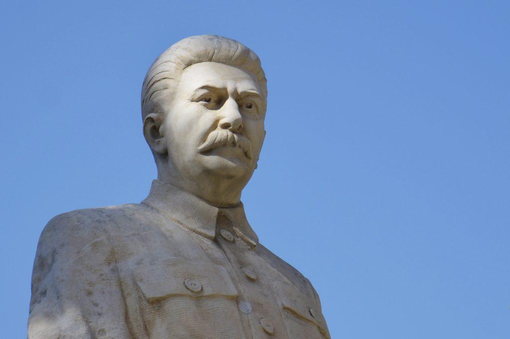 Statua di Stalin a Gori, Georgia