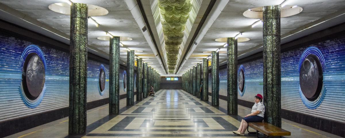 La stazione di Kosmonavtlar