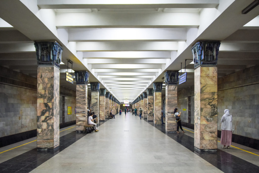 Stazione della metropolitana di Tashkent