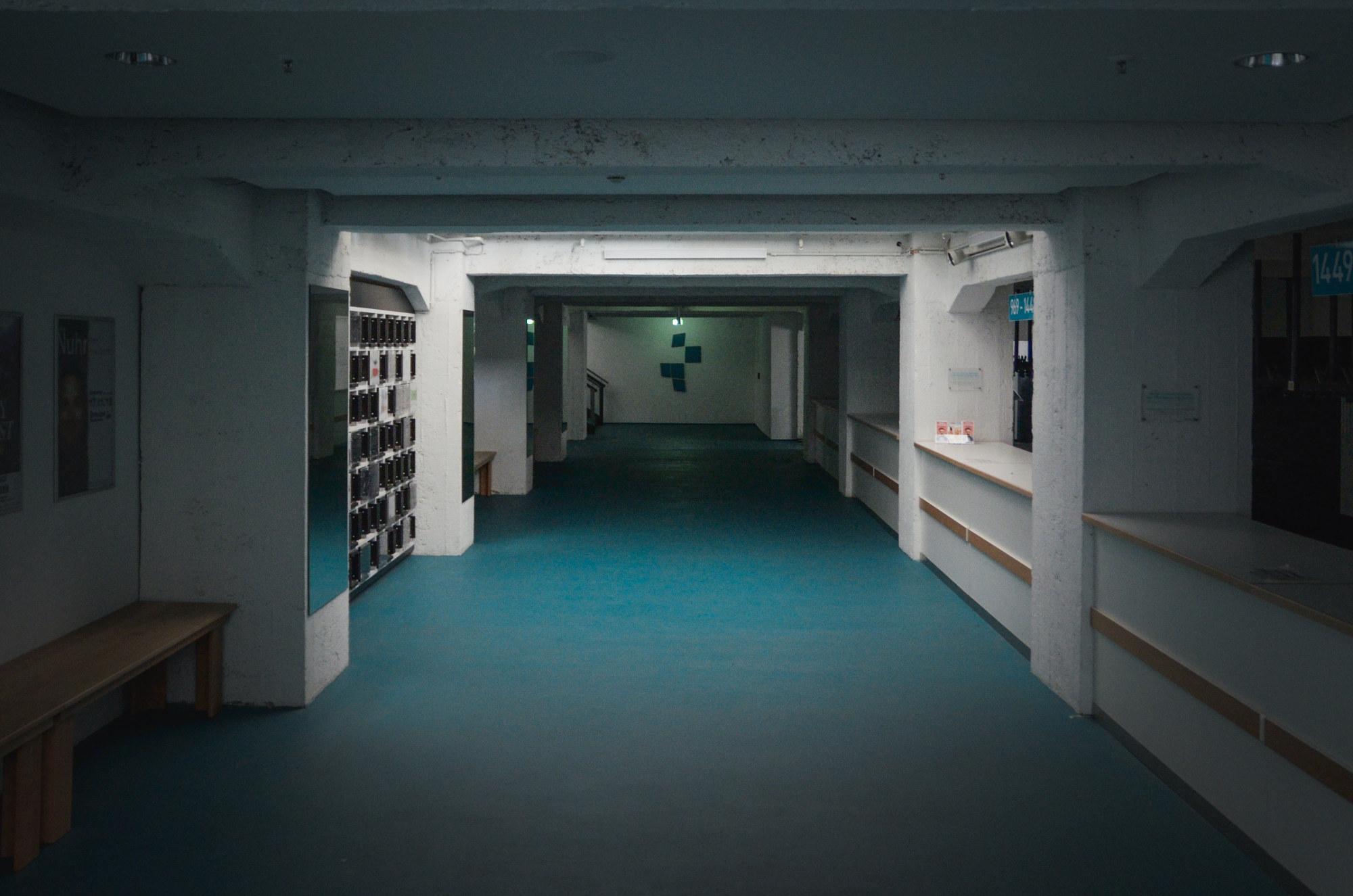 Il sotterraneo in cui era tenuto prigioniero Kurt Vonnegut, oggi