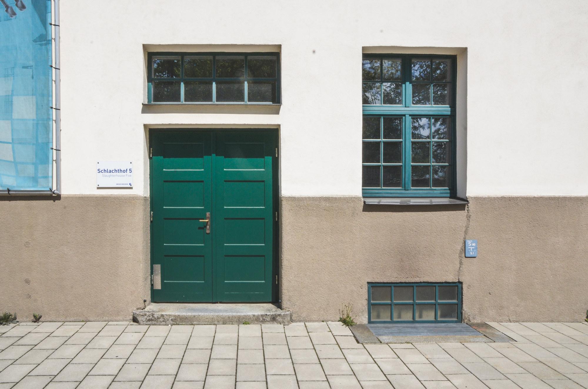 La porta d'ingresso al Mattatoio n.5