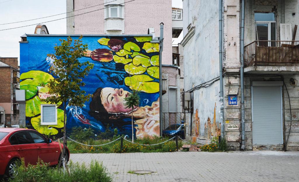 Street Art a Kiev: Anastasia Belous