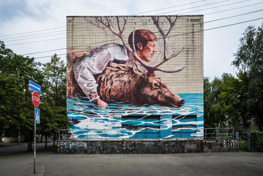 Street Art a Kiev: Fintan Magee