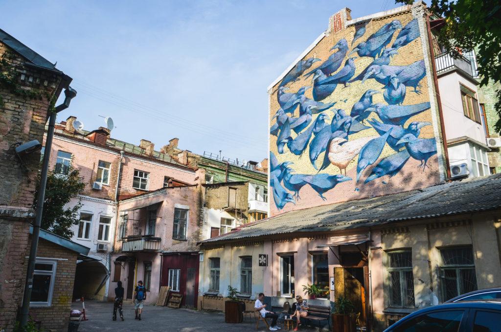 Kiev Street Art: Alexandr Britcev