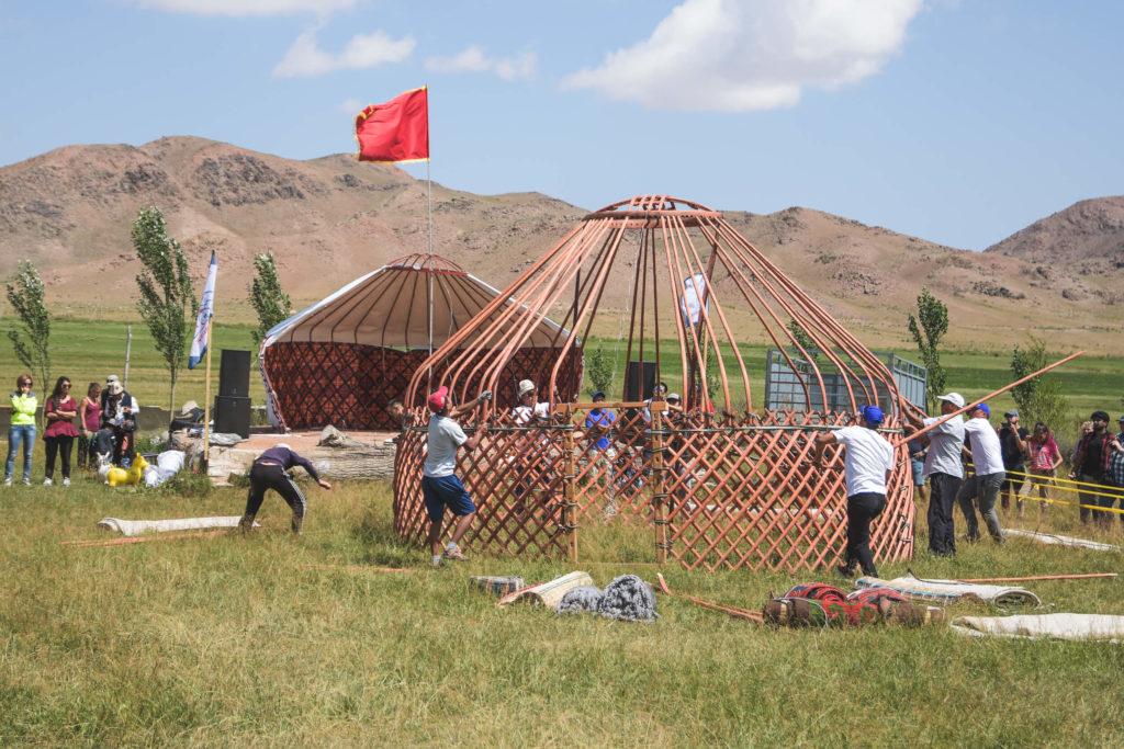Come è fatta una yurta