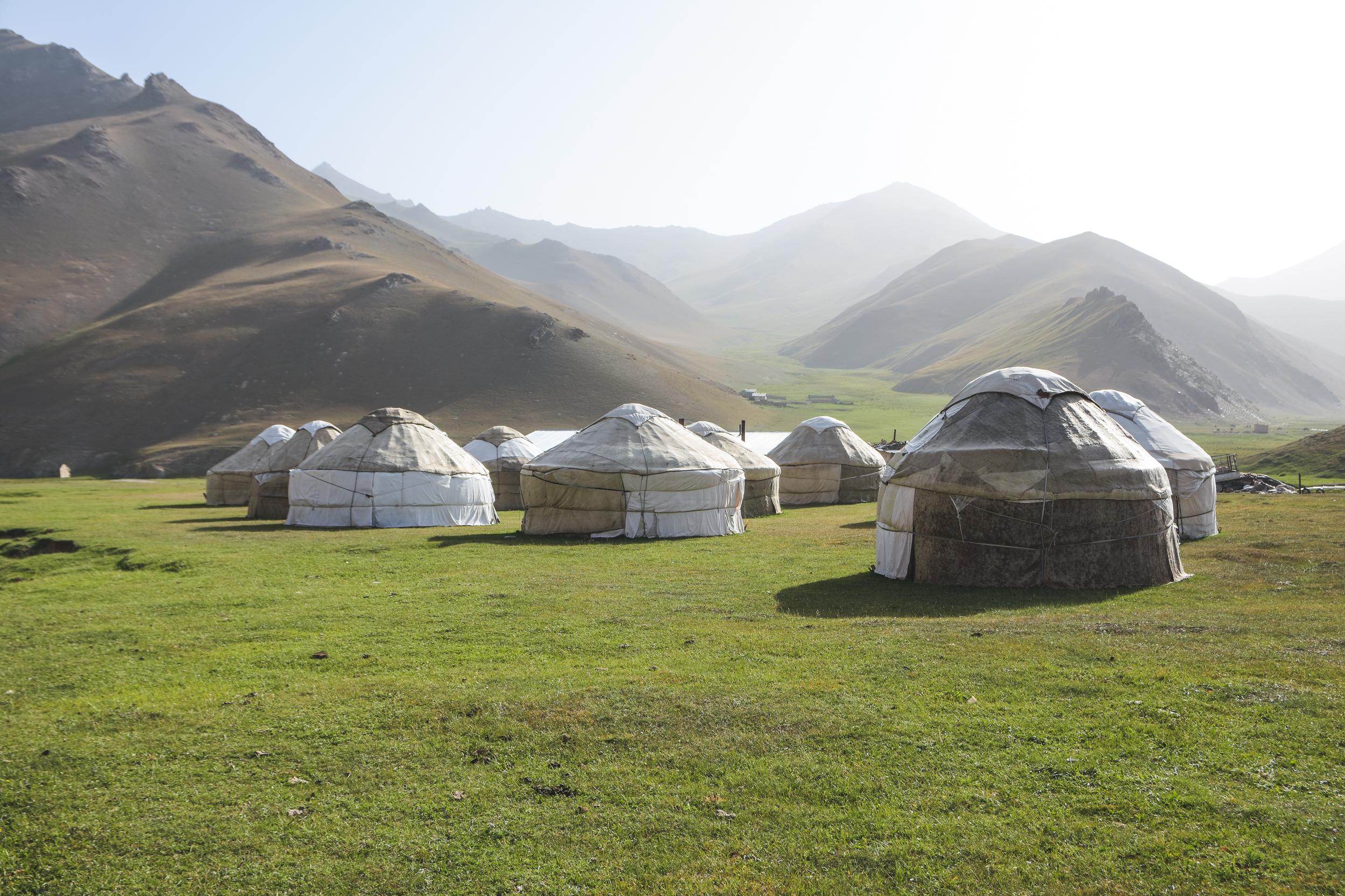 Viaggio di gruppo in Kirghizistan