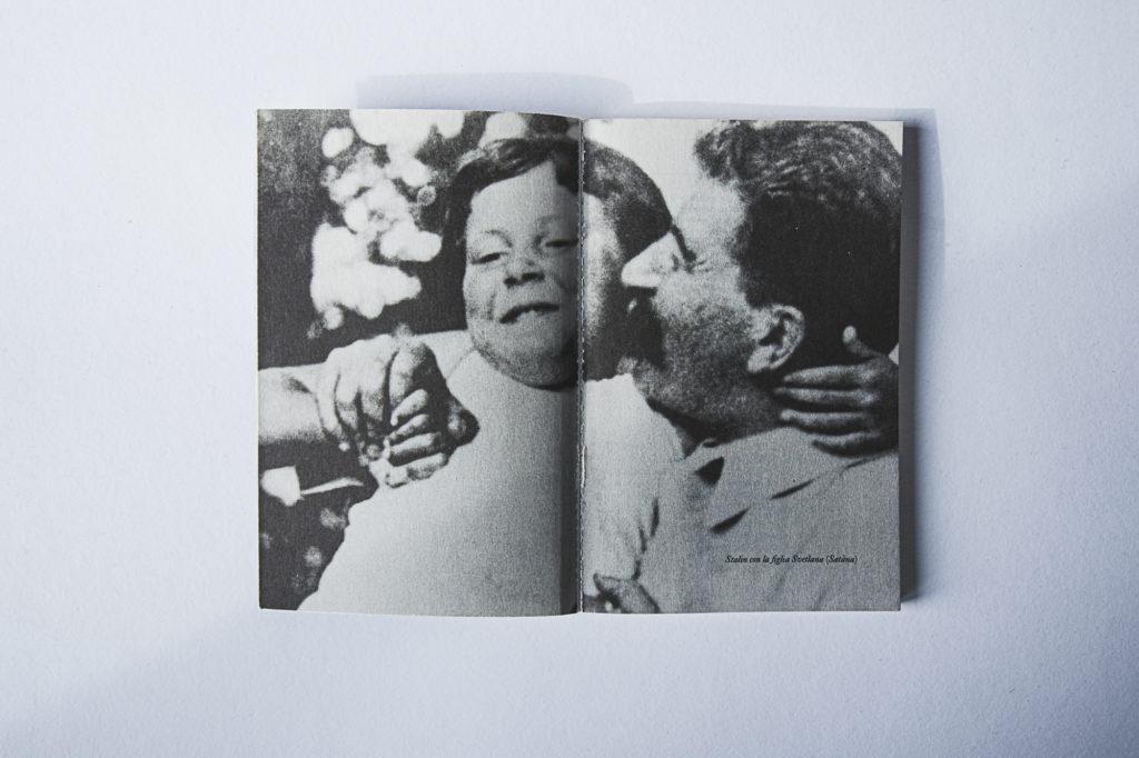Stalin con la figlia Satàna