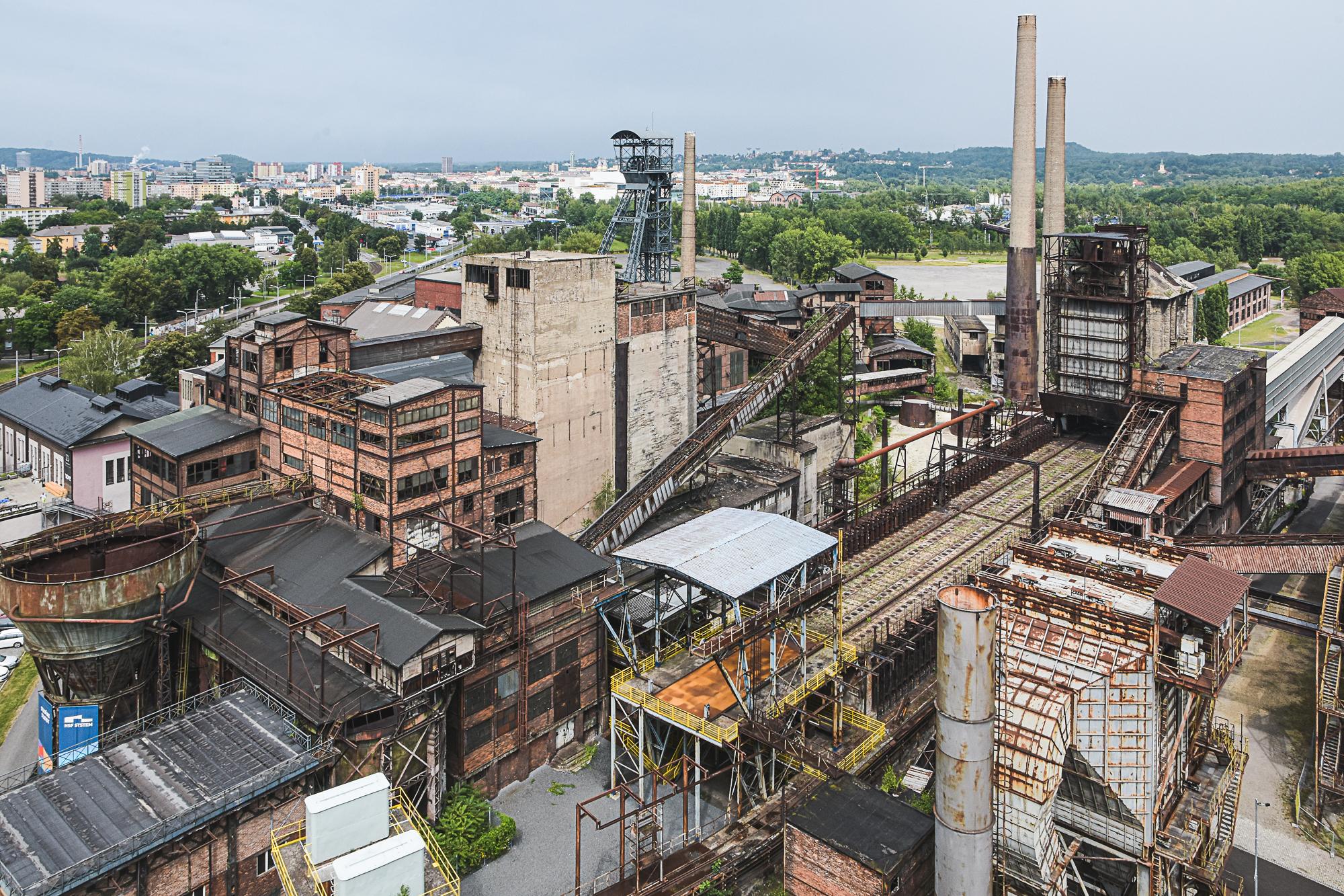 Architettura industriale di Vitkovice